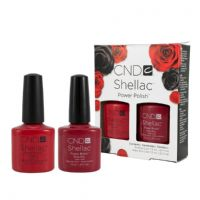 CND Shellac - Ruby Ritz & Wildfire Duo